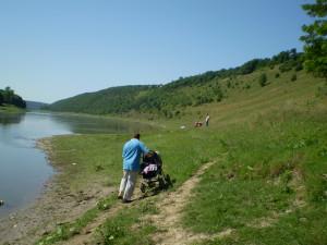 Дністер у селі Делева