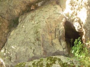 Вхід в печеру в Одаєві