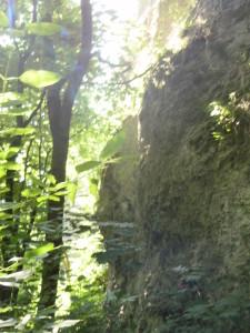 Скелі в урочищі Монастир в Одаєві