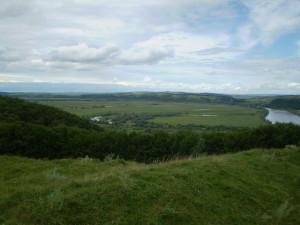 Долина Дністра біля Нижнева