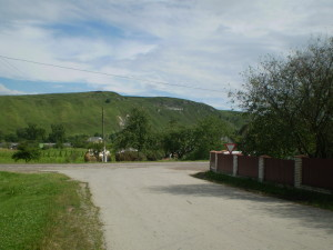 Ландшафт поблизу Олешова