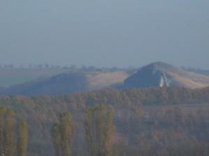Хотинська височина біля Дністра