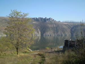 Частина Дністровського водосховища біля села Грушівці Чернівецької області