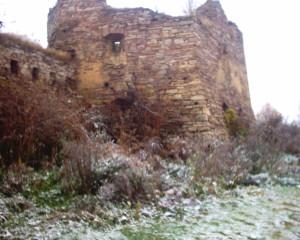 Башта замку у Золотому Потоці