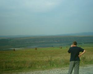 Дністер біля села Будзин