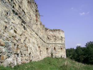 Бастіон Пнівського замку міста Надвірна