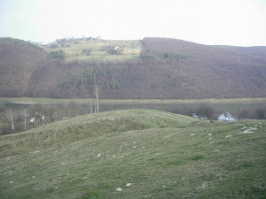 Село Стінка поблизу Дністра