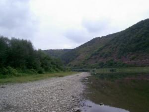Дністер біля села Хмелева