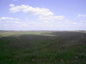 Село Колодіївка на горизонті