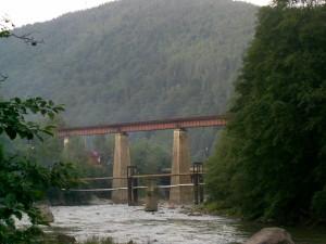 Залізничний міст у Яремче