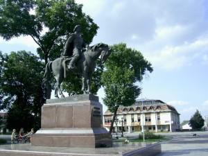 Пам'ятник Данилу Галицькому в Галичі