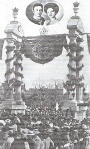Парад на честь принца Карла та Зіти
