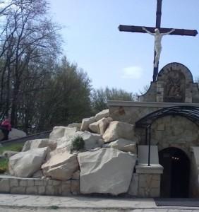 Печера у Гошеві, яка символізує Гріб Господній