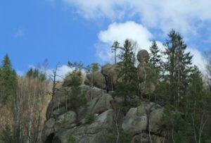 Скелі у Терношорах