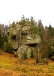 Скелі в Терношорах