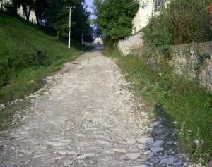 Старовинна дорога у Липівці вела до міської брами