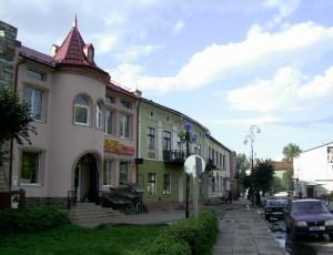 Центральна частина міста Болехів