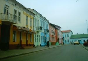 Центральна частина районного центру Галицького району - міста Галича