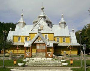 Церква Успіння Пресвятої Богородиці у Верховині