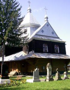 Церква Василія Великого в Косові, згоріла
