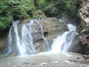 Водоспад Гук у селі Шепіт