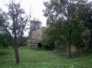 Залишки замкового палацу у Чернелиці