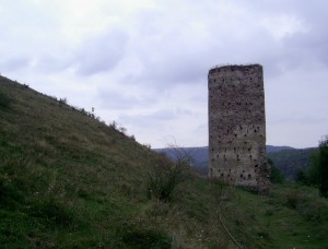 Замкова башта та круча перед нею