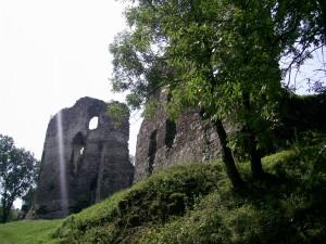 Бучацький замок у місті Бучач