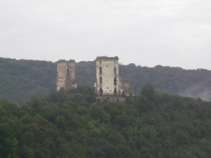 Башти замку у Червонограді