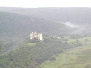Червоноградський замок біля сіл Нирків, Нагоряни