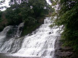 Джуринський водоспад у Червонограді