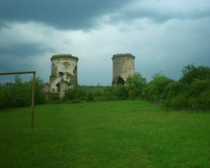Башти червоноградського замку поблизу села Нирків