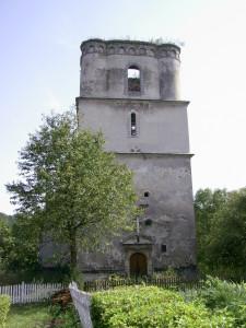 Башта костелу у смт Язловець