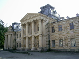Палац графа Бадені у смт Коропець
