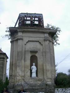 Статуя святого Валентина у Михальче