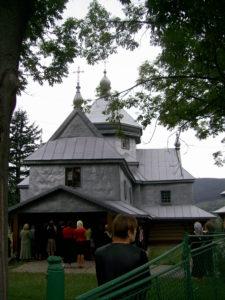 Церква у Дорі, передмістя Яремче