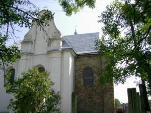 Костел у місті Надвірна