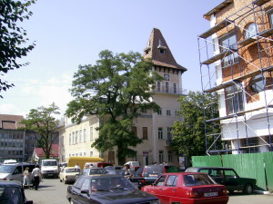 Ратуша у місті Надвірна