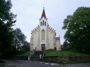Костел святого Валентина у місті Калуш