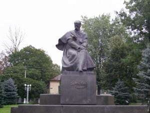 Пам'ятник Шевченку у місті Калуш