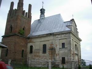 Костел Пресвятої Діви Марії у місті Снятин