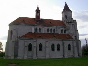 Костел у смт Заболотів