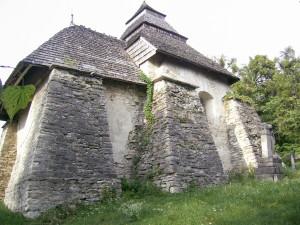 Миколаївська церква XIV століття у селі Чесники