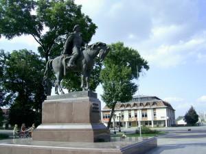 Пам'ятник Данилу Галицькому у Галичі