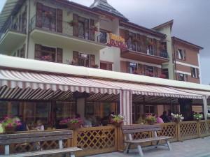 Кафе Бугіль у Буковелі