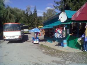 Сувенірний базарчик в Кривче
