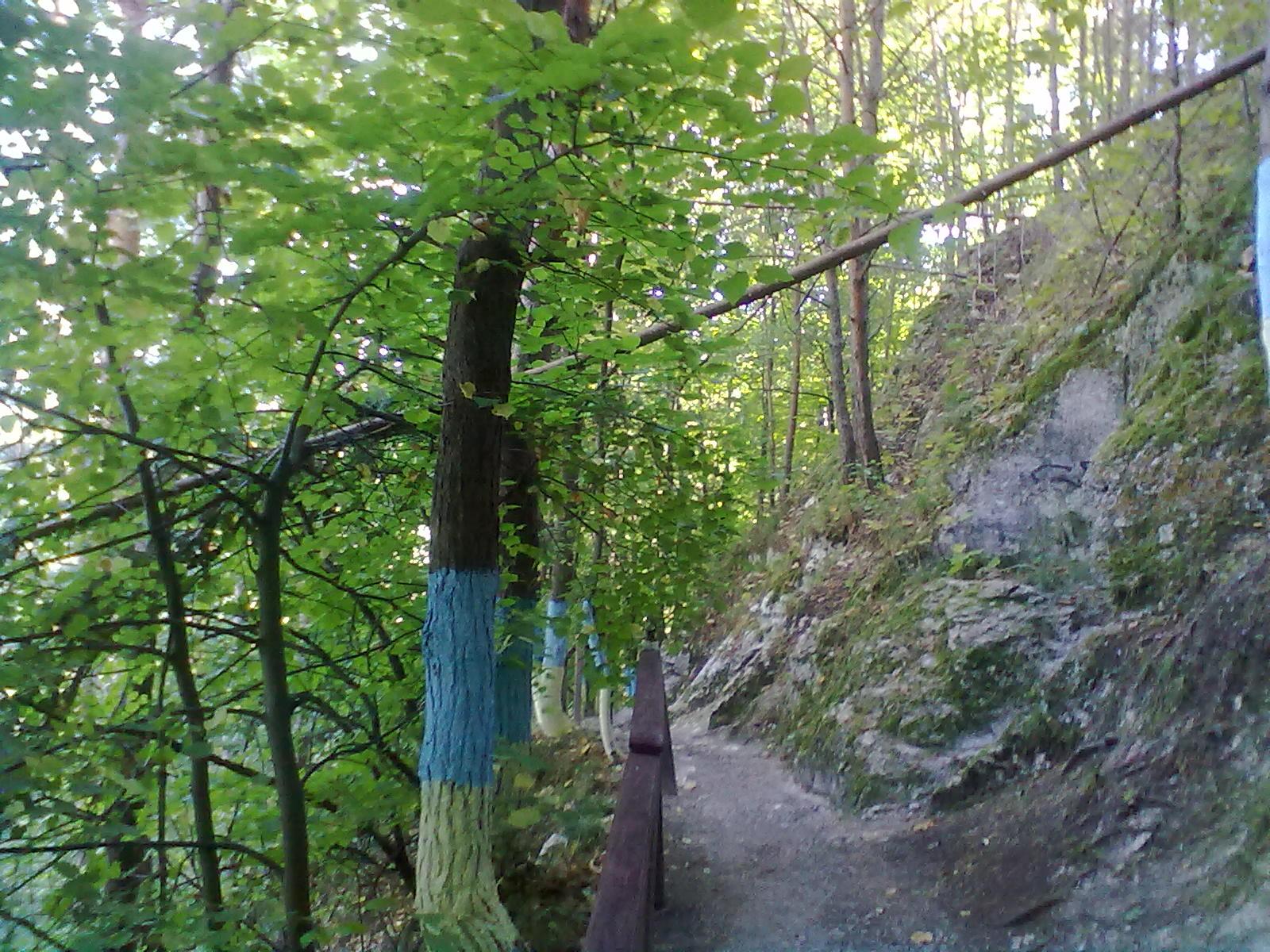 Доріжка до входу в печеру