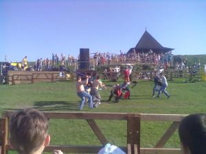 Бій серед глядачів на Хотинському фестивалі у 2012 року