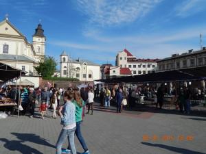 Площа міського бастіону, де відбувається ковальське свято