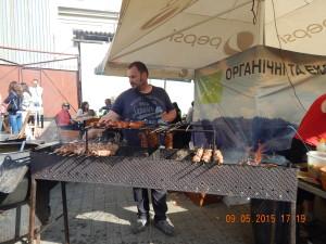 Ковбаски гриль та шашлики на Святі ковалів
